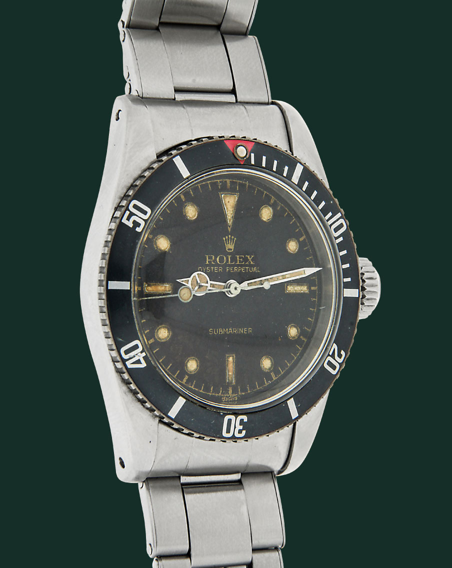 ROLEX SUBMARINER BIG CROWN 5510