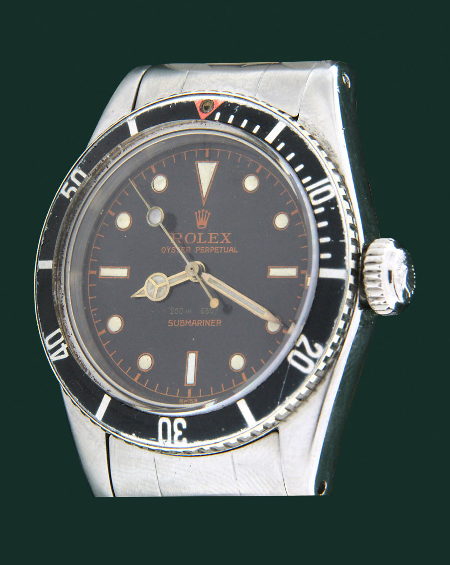 ROLEX SUBMARINER BIG CROWN 6538